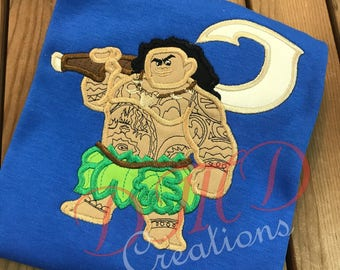 Maui, Hawaii Boy Applique shirt