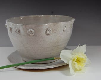 Large Pottery Planter- Flower Pot- plants-handmade