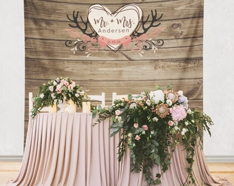 Wedding Backdrop, Rustic Wedding Backdrop, Rustic Wedding Decor Decorations, Engagement Party Decorations, Shower Decorations/ W-G21-TP AA3