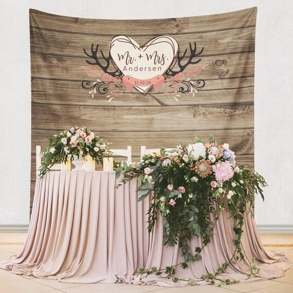Rustic Wedding Decoration Ideas For Reception: Wedding Backdrop Rustic Wedding Backdrop Rustic Wedding
