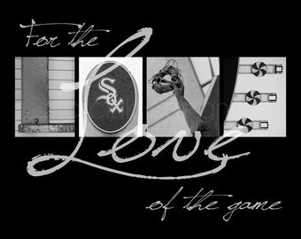 "Chicago White Sox ""For the Love of the Game"" Photographic Print"