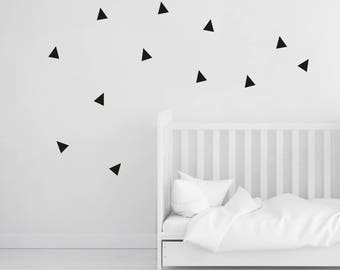Triangle Wall Decals, Triangle Wall Stickers, Triangle Wall Vinyl, Triangle Vinyl Decals