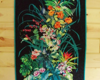 Wall Hanging Quilt Fantasy Island Door Banner Mothers Day Gift Handmade Wall Decor