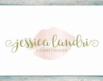 Cosmetology Logo, Makeup Artist Logo, Bath Beauty Logo,  Photography Logo, Premade Logo, Lips Logo, Boutique Logo, Salon Logo