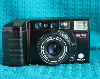 Minolta AF-Tele 35mm compact camera