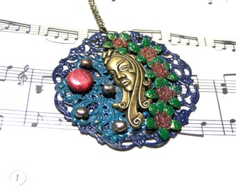Egyptian Pendant Pearl Pendant Top Selling Jewelry Most Popular Jewelry Mother of Pearl