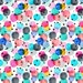 Abstract Colorful Confetti Fabric - Festive Party Dots By Crystal Walen - Confetti Cotton Fabric By The Yard With Spoonflower