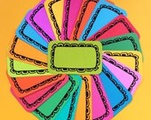 Groovy Daisy Stack Pack (20 mini cards/tags)