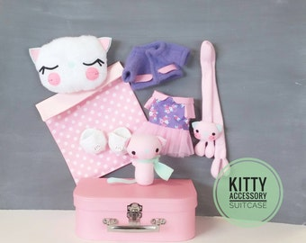Kitty Accessory Suitcase - Doll Boutique, Outfit, Cat, Toy