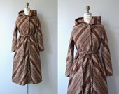Wessex wool coat | vintage 1970s blanket coat | wool 70s wrap coat