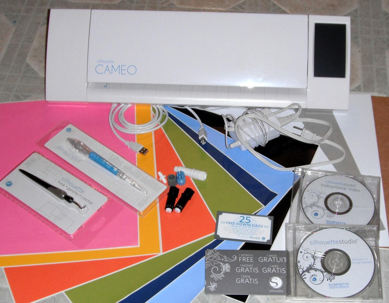 silhouette cameo 2 electronic cutting machine