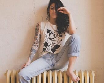 Women's Sleeveless Hope & Health T-shirt