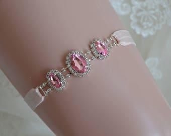 Pink Prom Garter- Prom Garter-Pink Garter-Prom-Garter-Garter Belt-Pink Garter belt