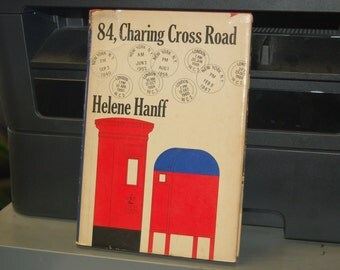 84, CHARING CROSS ROAD by Helene Hanff * Vintage Hardback Book with Dust Jacket * Third Printing