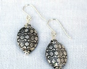 Patterned Sterling Silver...