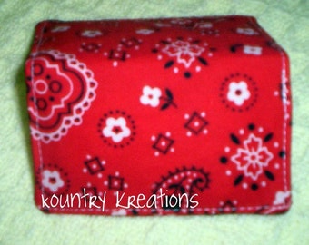 BEAUTIFUL BANDANA, debit card cover, debit card holder,handmade, fabric, Quilted, Wallet, debit card, purse, quilt, cotton, ready to ship