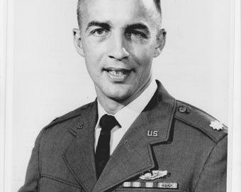 Official release 1969  NASA photo of  Astronaut Major Donald H. Peterson