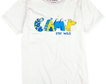 Camp Stay Wild T-Shirt