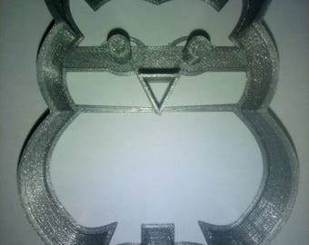"Cookie cutter cookie ""hibou chouette"