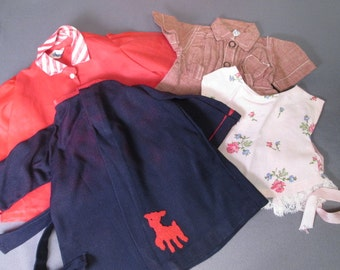 """Assorted Vintage Clothing for 18"""" Terri Lee Doll - 1950's - Tagged"""