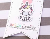 Unicorn Magnetic Bookmark - Planner Clip