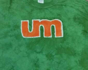 Umphreys McGee Batik Tee Shirt  CUSTOM made Jam Band Music