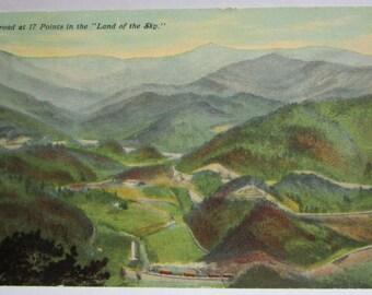 17 Points, North Carolina  Post Card FREE Domestic Shipping