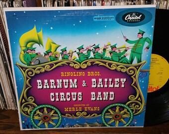 Barnum & Bailey Circus Band Vintage Vinyl Record