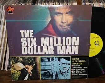The Six Million Dollar Man Vintage Vinyl Record