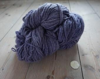 Art yarn thick to thin slub corridale yarn 200g naturally dyed