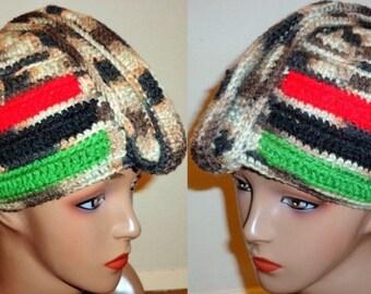 Sandy Roots, Crochet Turban