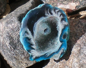 Geode Black and Blue