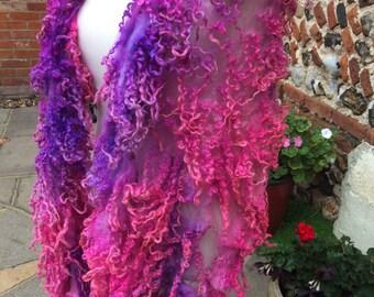 Masham chunk in pinks and purples