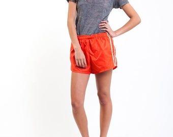 35% OFF SPRING SALE Orange Creamsicle Running Shorts