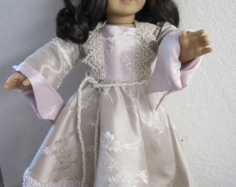 SILK RENAISSANCE Gown. Fits 18 inch dolls like American girl