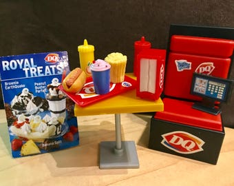Dairy Queen Fast Food Doll Accessories