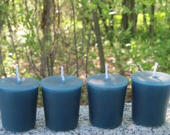 TWILIGHT WOODS (votives or 4-oz soy jar candle)