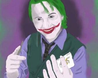 Digital Painting Print the Joker