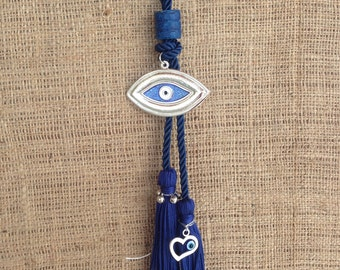 Unique Evil eye Wall Hanging - House Protection & Good Luck - Home decoration - Greek souvenir - Greece - gift