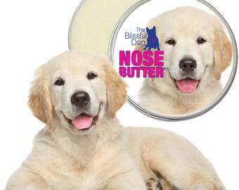 Golden Retriever ORIGINAL NOSE BUTTER® Handcrafted Moisturizing Balm for Dry or Crusty Dog Noses Choice: 1 oz, 2 oz or 4 oz Tin