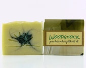 Patchouli Soap / Cold Process Soap / All Natural Soap Bar / WOODSTOCK