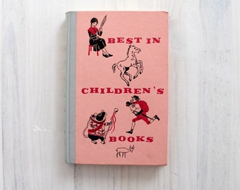 Buy One get ONE FREE Vintage children book 60's - Best in Children's books 34 - illustrated by   Bordigini, Weisgard, Erickson, Ives, Elgin