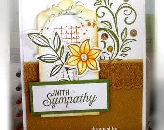 Sympathy Card- Stampin' Up With Sympathy