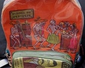 Rare Mexico Day of the Dead Backpack