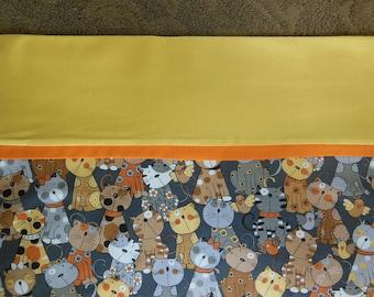 Cat pillowcase, standard Bed Pillowcase