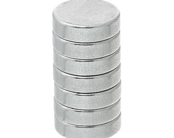 Pack of 20 Round Disc Neodymium Magnets