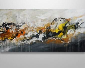 Abstract Painting, Abstract Seascape, Abstract Wall Art, Original Painting, Wall Decor, Wall Art, Home Decor, Gabriela Art, Modern Abstract