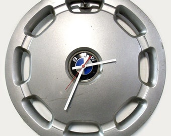 1991 - 1992 BMW 3 Series Hubcap Wall Clock - 318i 320i Hub Cap