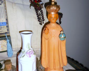 Infant of Prague  Plastic Ready to Be Dressed