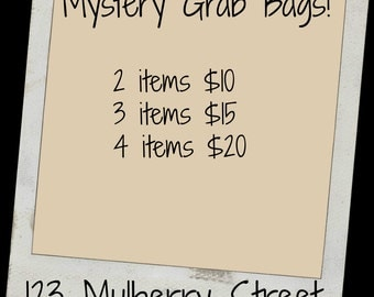 Doll Clothes GRAB Bag--123 Mulberry Street
